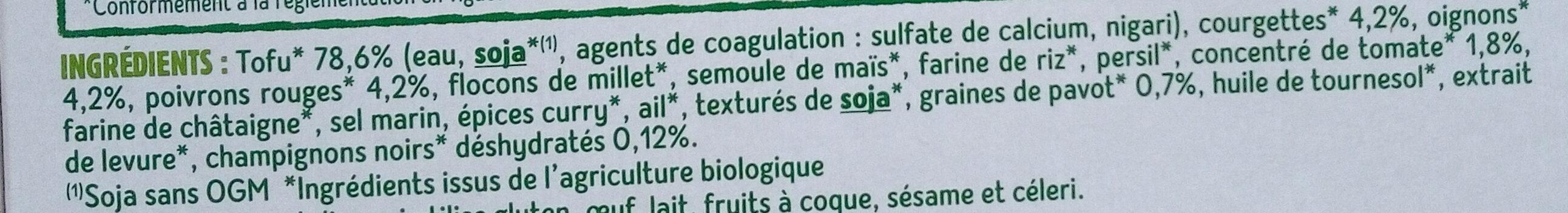 CROQ' SOJA - Ingredients - fr