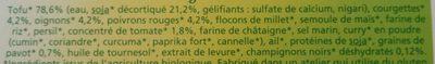 Croq'Soja au curry et pavot - Ingrédients