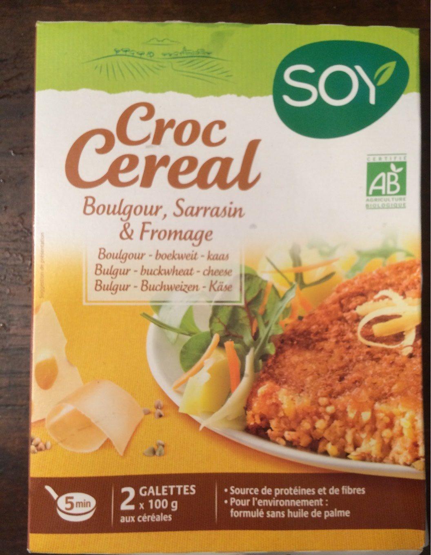 Croc' Cereal Sarrasin Fromage - Produit