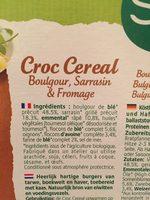 Croc' Cereal Sarrasin Fromage - Ingrédients