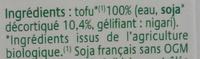 Tofu Soyeux -