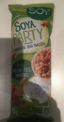 Graines De Soja Toastees Amandes Raisins Secs - Product - fr