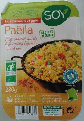 Paëlla recette végétale - Produit - fr