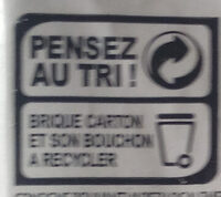 Soya cuisine - Recycling instructions and/or packaging information - fr