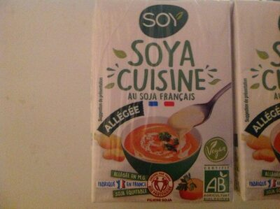 Soya Cuisine Allégée - Product - en