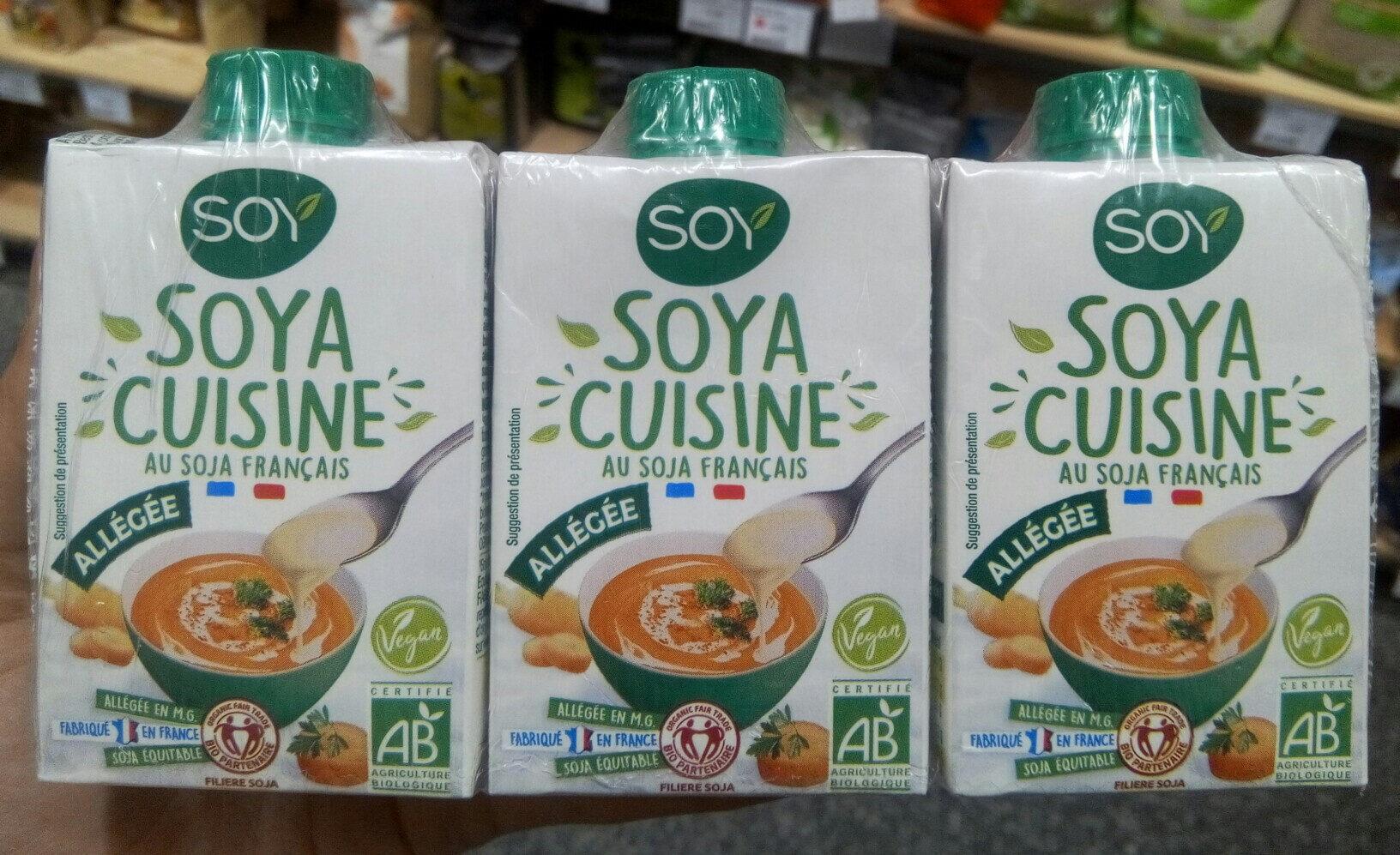 Soya cuisine allégée - Product - fr