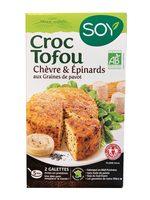 Croc Tofou Chêvre, Epinards & Graines de pavot - Product