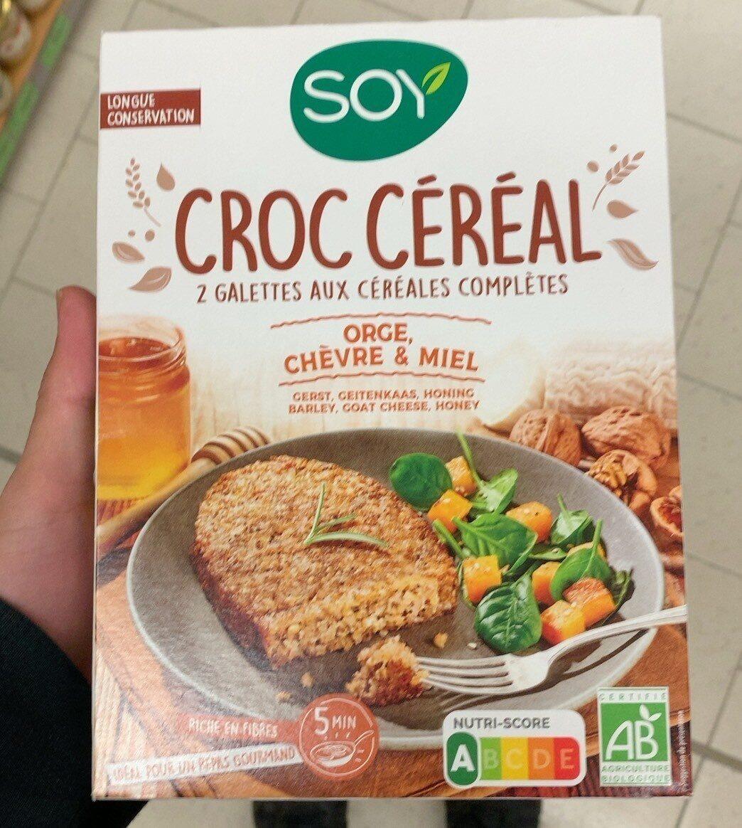 Croc céréales orge, chèvre & miel - Product - fr