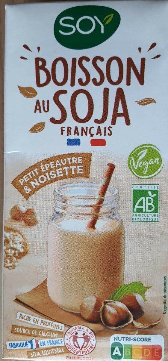 Boisson au soja français petit épeautre et noisette - Product - fr