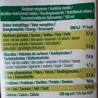 Boisson au soja français petit épeautre et noisette - Voedingswaarden - fr