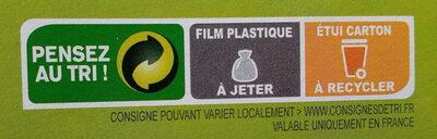 Fusilli Sarrasin - Instruction de recyclage et/ou information d'emballage - fr