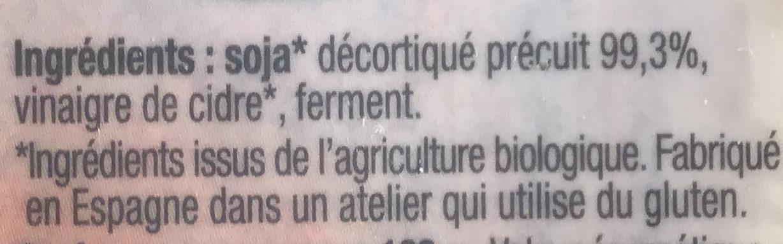 Tempeh à cuisiner - Ingrédients - fr