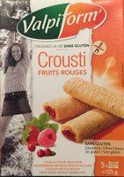 Crousti Fruits Rouges Sans Gluten - Produit - fr