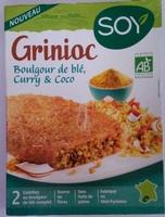 Grignoc Boulgour de blé, Curry & Coco - Produit