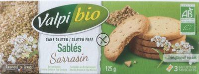 Sablés Sarrasins - Product