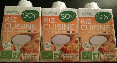 Riz cuisine au riz de Camargue 3X20CL - Product - fr