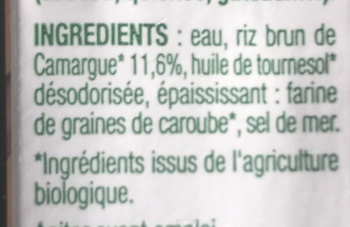 Riz cuisine au riz de Camargue 3X20CL - Ingredients - fr