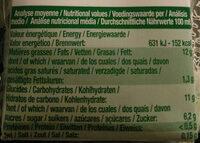 Riz cuisine au riz de Camargue 3X20CL - Nutrition facts - fr