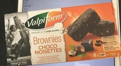 Brownie choco aux noisettes - Produit - fr