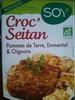 Croc'Seitan galette Pommes de terre, Emmental & Oignons - Product