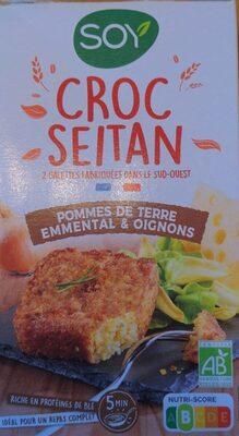 Croc seitan pommes de terre emmental et oignons - Produit - fr