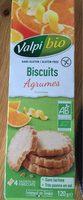 Biscuit agrume / sans gluten - Produit