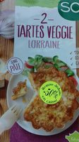Tartes veggie  Lorraine - Produit - fr