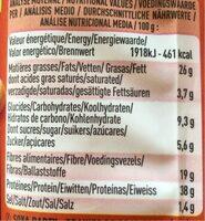 Soya Party - Graines de soja toastées à la tomate, au thym... - Informations nutritionnelles - fr