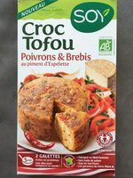 Croc Tofou Poivrons & brebis au piment d'Espelette - Produit - fr