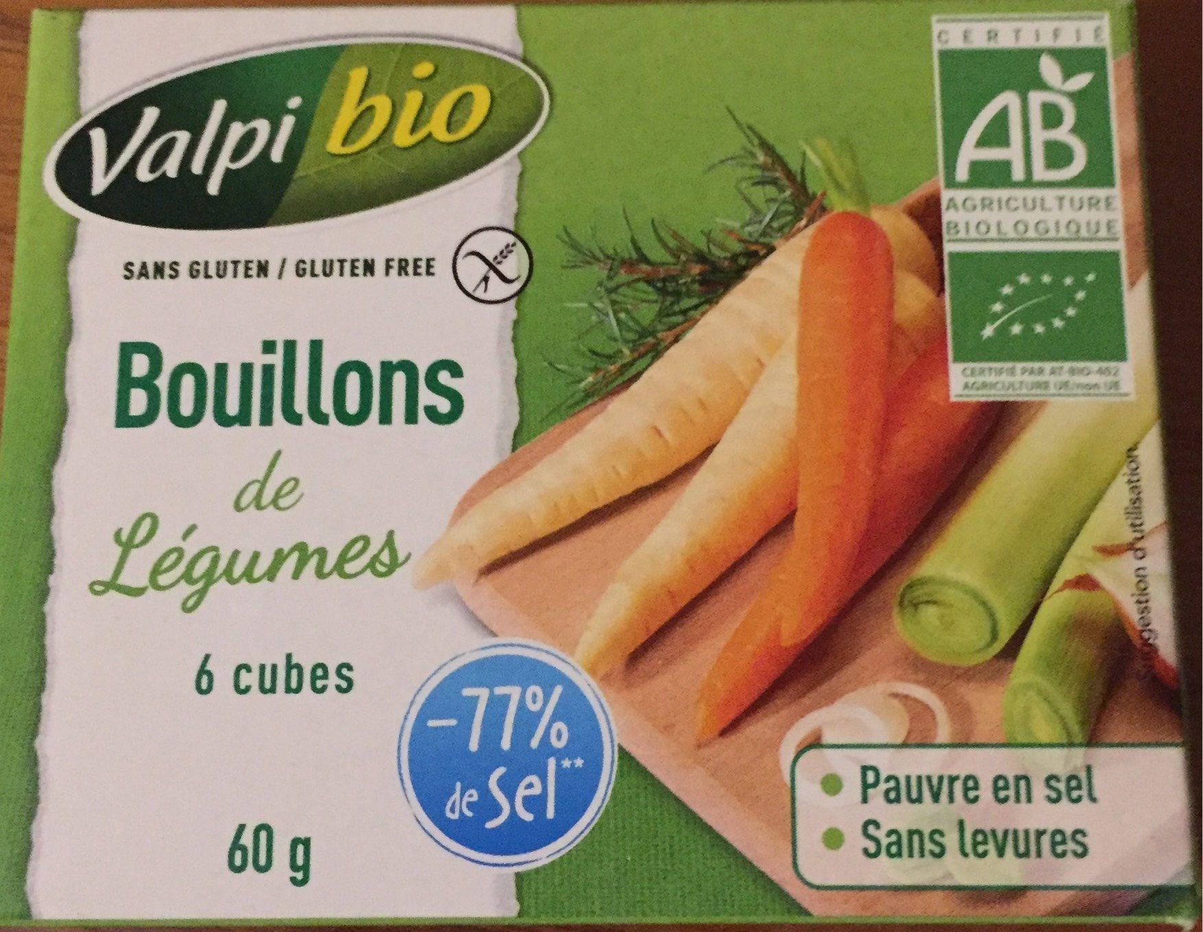 Bouillons de légumes - Produit