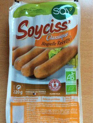 Soyciss' Classique au tofu - Product - fr