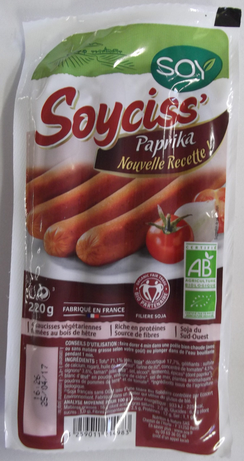 Soyciss' Paprika - Product - fr