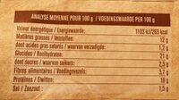 nuggets vegan - Nutrition facts - fr
