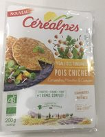Galettes pois chiches - Produkt - fr