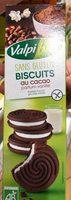 Biscuit cacao parfum vanille - Produit