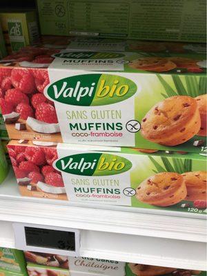 Muffins coco framboise - Produit