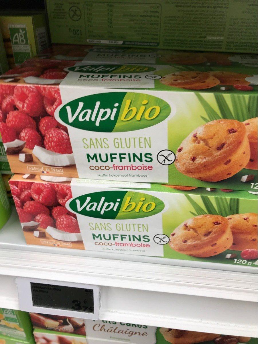 Muffins coco framboise - Produit - fr