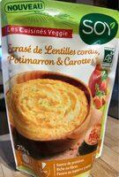 Ecrasé de lentilles corail, potimarron et carottes - Product - fr