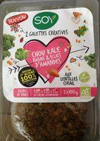 Chou kale raisins & éclats d'amandes aux lentilles corail - Product - fr
