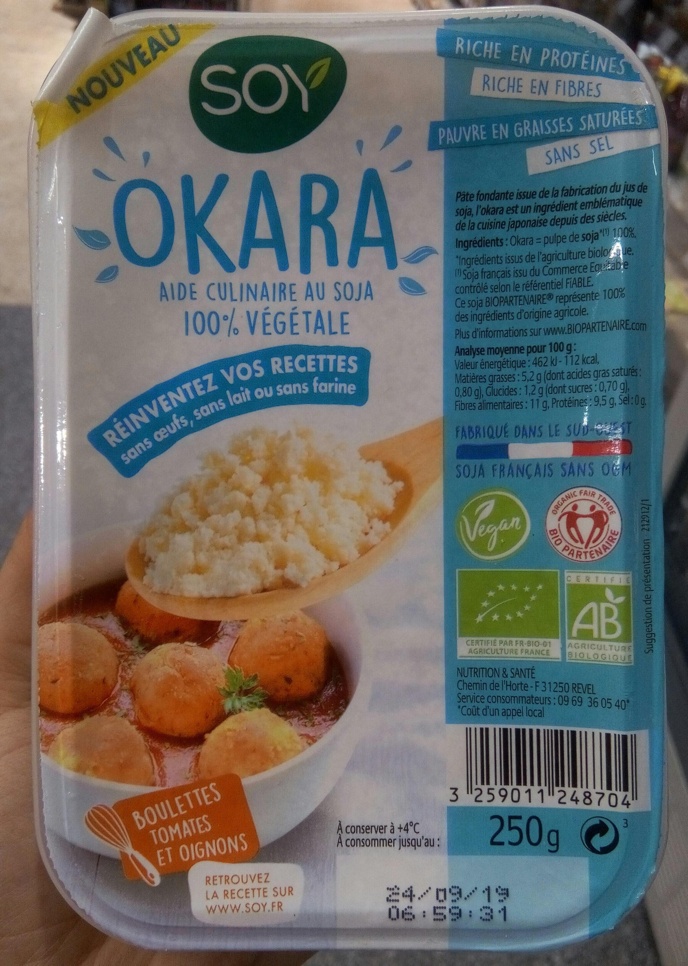 Okara nature - Produit - fr