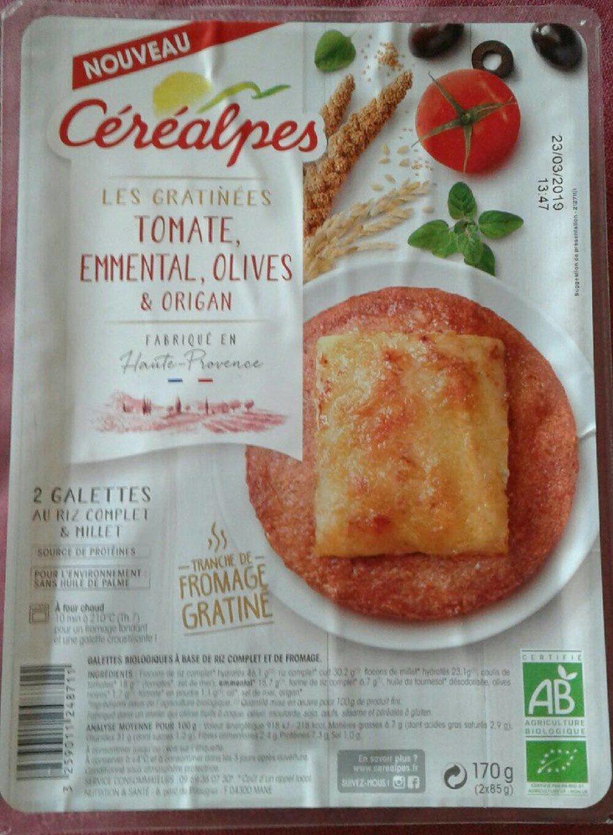 Galettes au riz et millet - Produit - fr