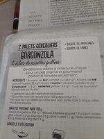Palets céréaliers gorgonzola - Ingrédients