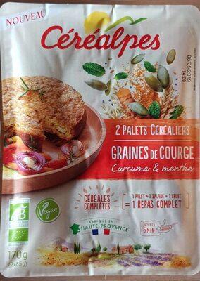 Palets céréales graines de courge - Product - fr