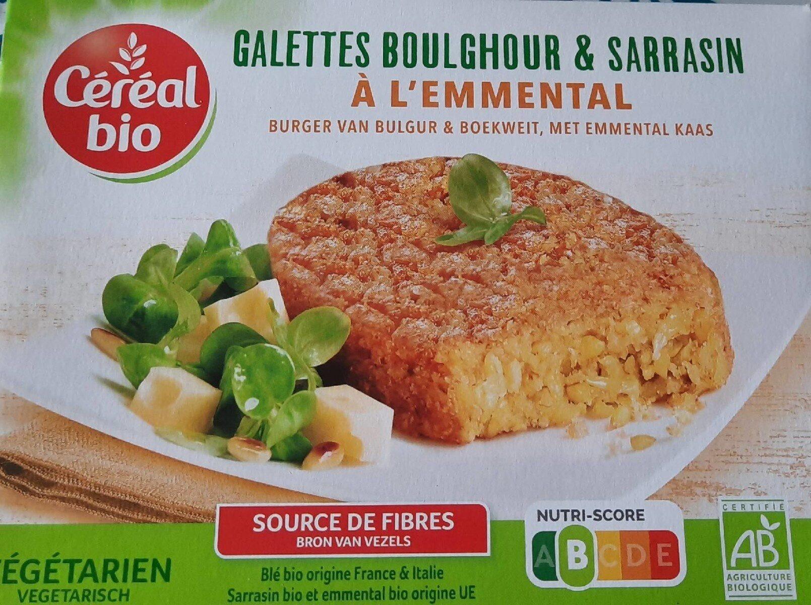 Galettes Boulghour & Sarrasin à l'Emmental - Produit - fr