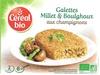 Galettes millet et boulghour aux champignons - Product