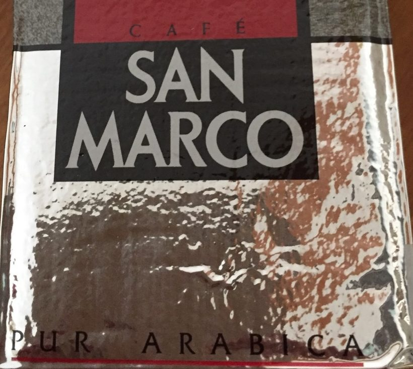 Café San Marco pur arabica - Ingrediënten