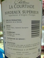 Château La Courtiade - Product - fr