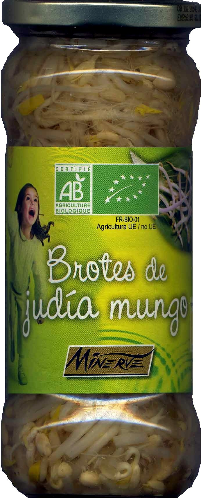 """Brotes de judía mungo en conserva ecológicas """"Minerve"""" - Producto - es"""
