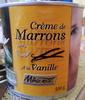 Crème de Marrons à la Vanille - Product