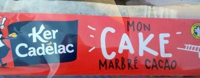 Mon Cake Marbré Cacao - Produit - fr